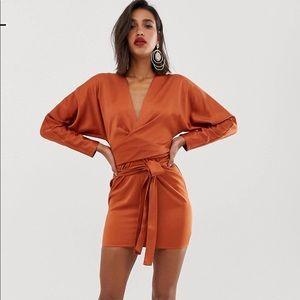 ASOS Mini Wrap Dress